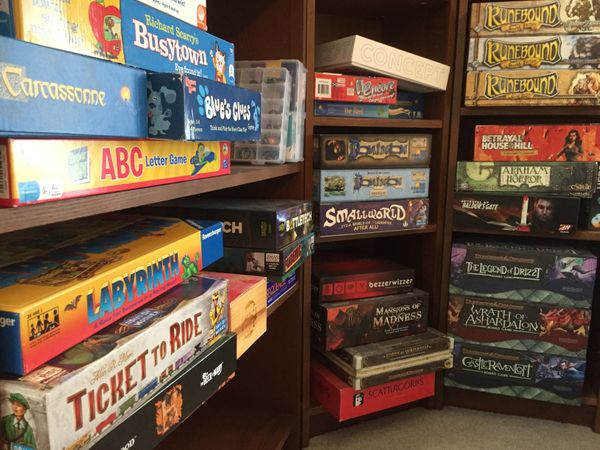 Daydreaming of Board Game Nights